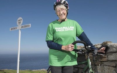 Mega-fit gran, aged 81, cycles 960 miles across Britain